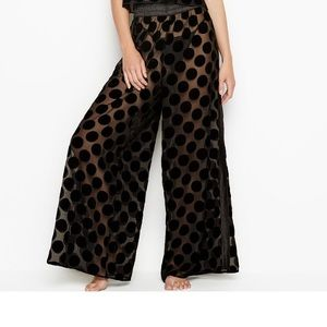 VS NEW DOT MESH VELVET PANT / MEDIUM